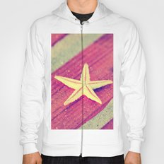 Stars and Stripes on the beach Hoody