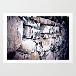Stone Cold Art Print