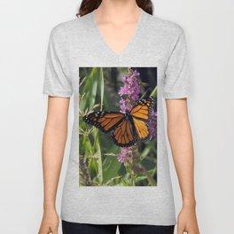 Monarch Splendor Unisex V-Neck
