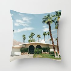 Memory form California Throw Pillow
