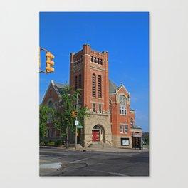 Ashland Avenue Baptist Church II Canvas Print