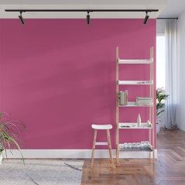 Pink Yarrow | Pantone Fashion Color Spring : Summer 2017 | Solid Color Wall Mural