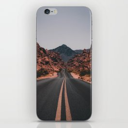 Road to anywhere iPhone Skin