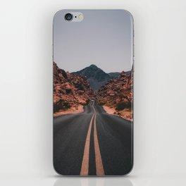 Road to anywhere iPhone Skin