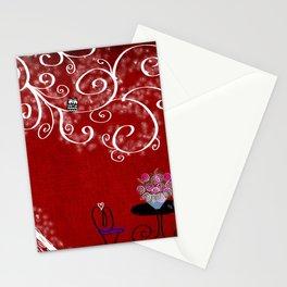 Hoo Keeps Watch Stationery Cards