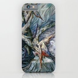 Guardian Angels by Dorothea Tanning iPhone Case