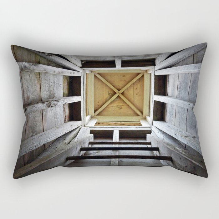 Up the Rung Ladder Rectangular Pillow