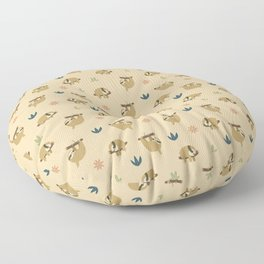 Lazy Sloths Patten Floor Pillow