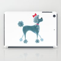 poodle iPad Cases featuring Poodle by Cathy Brear
