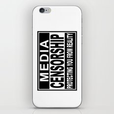 Media Censorship Protecting You From Reality iPhone & iPod Skin
