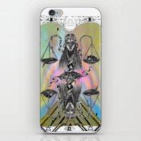 libra iPhone & iPod Skins featuring LIBRA by Caroline Vitelli GOODIES