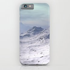 Snow Covered Mountains Slim Case iPhone 6