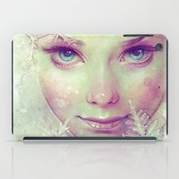 ice iPad Cases featuring Elsa by Anna Dittmann