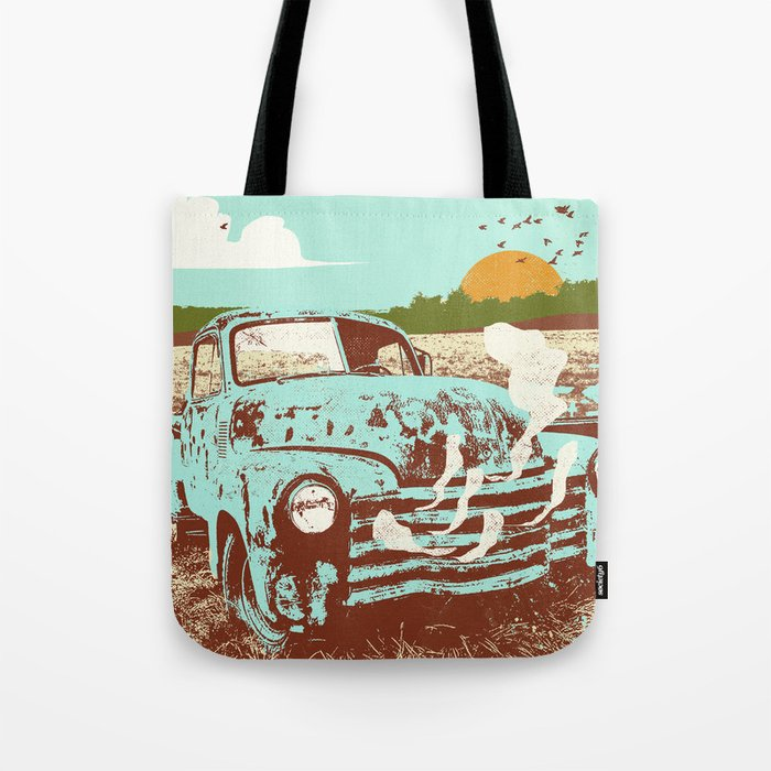 OLD TRUCK Tote Bag