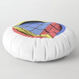 Rubik's Cube Floor Pillow