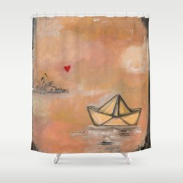 The things that I love 2 Shower Curtain