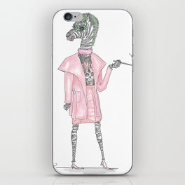 Regina George as CEO Zebra iPhone Skin