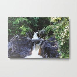 Kent Falls IV Metal Print