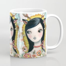 Dear Girl Saint by CJ Metzger Coffee Mug