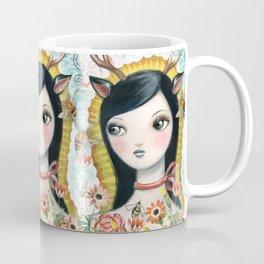 Dear Girl Saint by CJ Metzger Coffee Mug