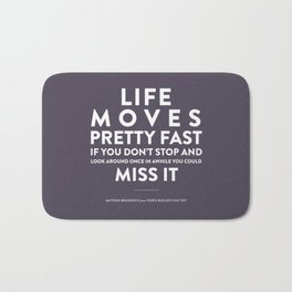 Life - Quotable Series Bath Mat