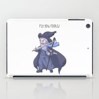 gandalf iPad Cases featuring Gandalf Chibi LOTR Hobbit  by ParallelPenguins