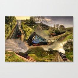 Devon Steam  Canvas Print