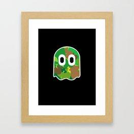 Camo Blinky Framed Art Print