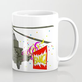Funny helicopter Coffee Mug