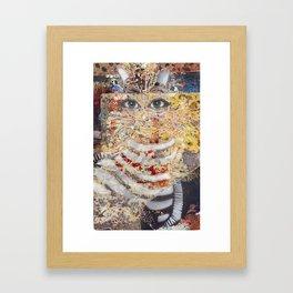 Enchanted Feline Framed Art Print