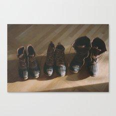 Bean Boots Canvas Print