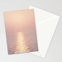 cashmere rose sunset Stationery Cards