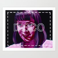 disco Art Prints featuring Disco by Jared Yamahata