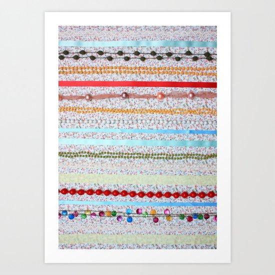 Princess Pattern Art Print
