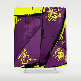 EVIL Shower Curtain