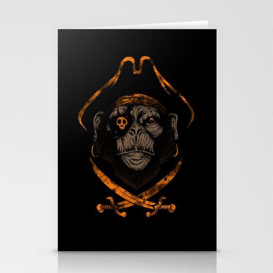 Captain sea monkey Stationery Cards