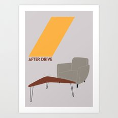 Drive - After Drive Art Print