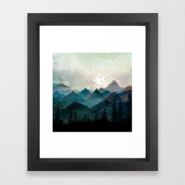 Mountain Sunrise II Framed Art Print