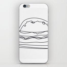 Cheeseburger Cheeseburger iPhone Skin