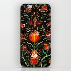 Singing Flowers - Night iPhone & iPod Skin
