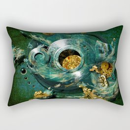 Moulds for gold Rectangular Pillow
