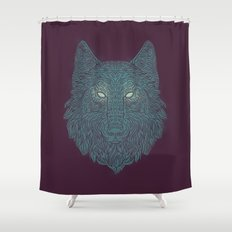 Wolf of Winter Shower Curtain