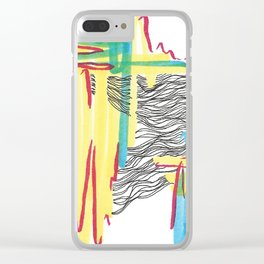 Primary Wavelength 1 Clear iPhone Case