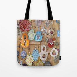 Hamsa lucky charms Tote Bag