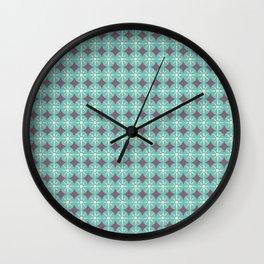 BELEN STAR FLOWER Wall Clock