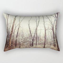 Winter Woods #1 Rectangular Pillow