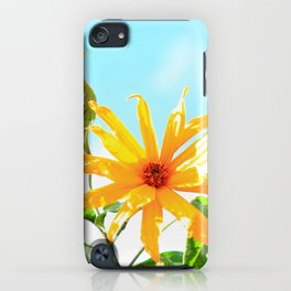 Yellow dance in the sun iPhone Case