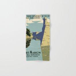 Fort Marion National Monument, St. Augustine, Florida Hand & Bath Towel