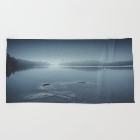 I can´t sleep Beach Towel