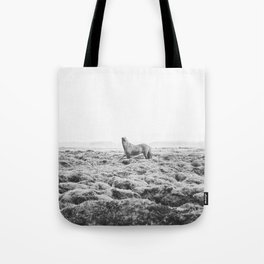 Horse Print with a Modern Style Tote Bag